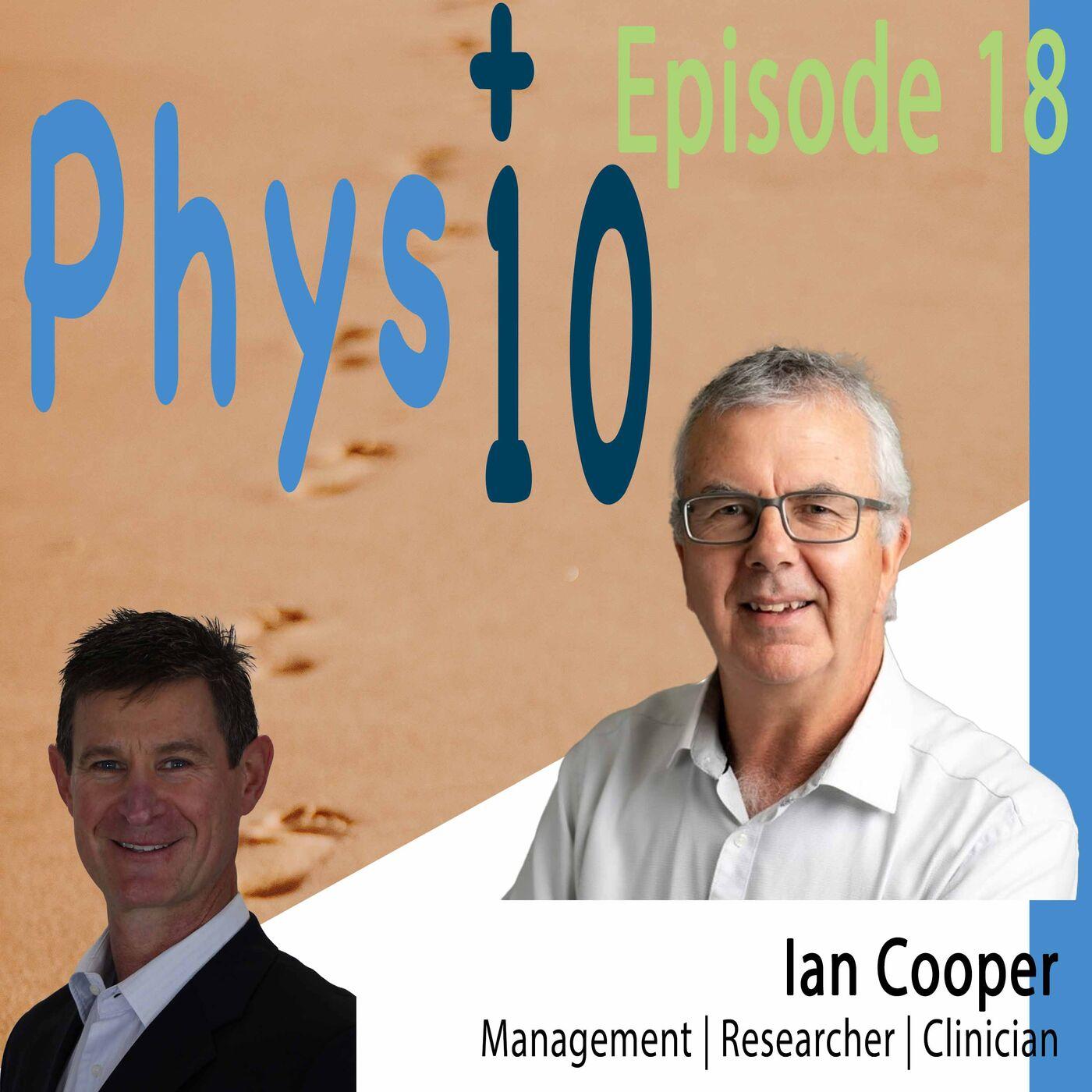 Mr Ian Cooper Management | Researcher | Clinician