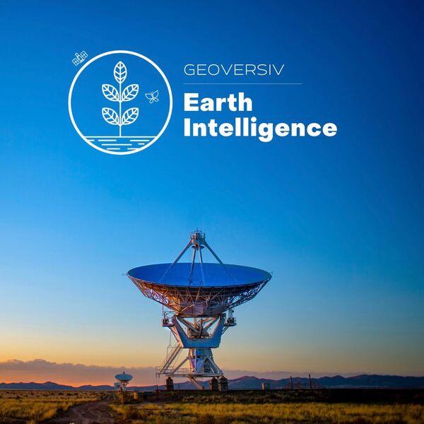 Geoversiv - Earth Intelligence Podcast Artwork Image