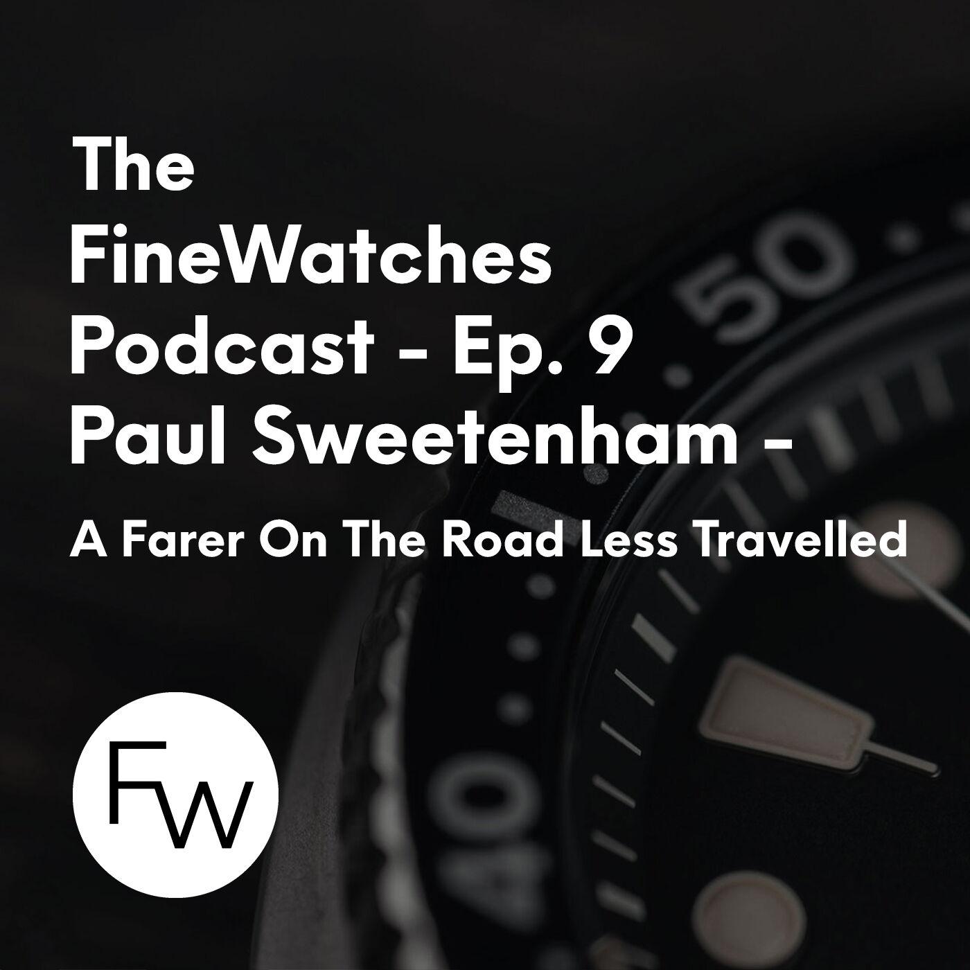 A Farer On The Road Less Travelled - Paul Sweetenham