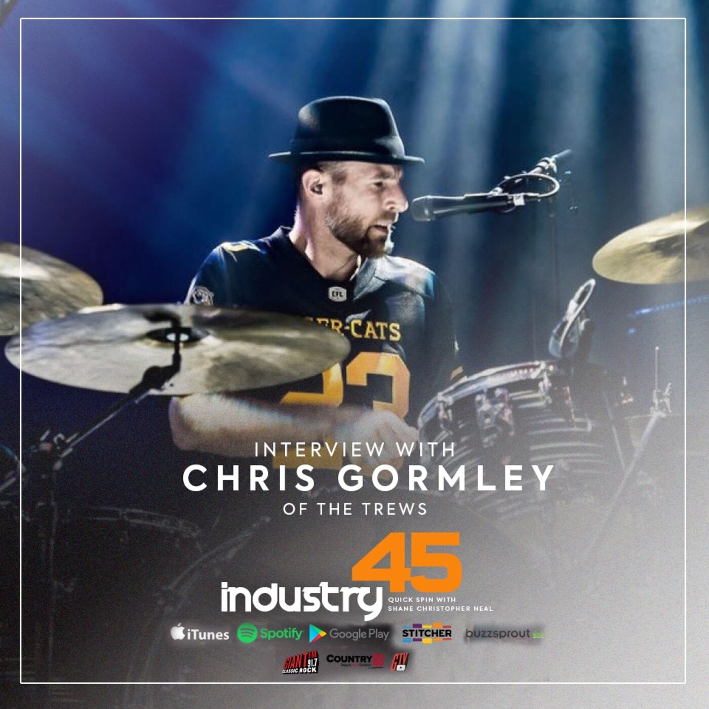 Industry 45 Quick Spin feat. Chris Gormley (The Trews, The Whisky Hunter )  FULL