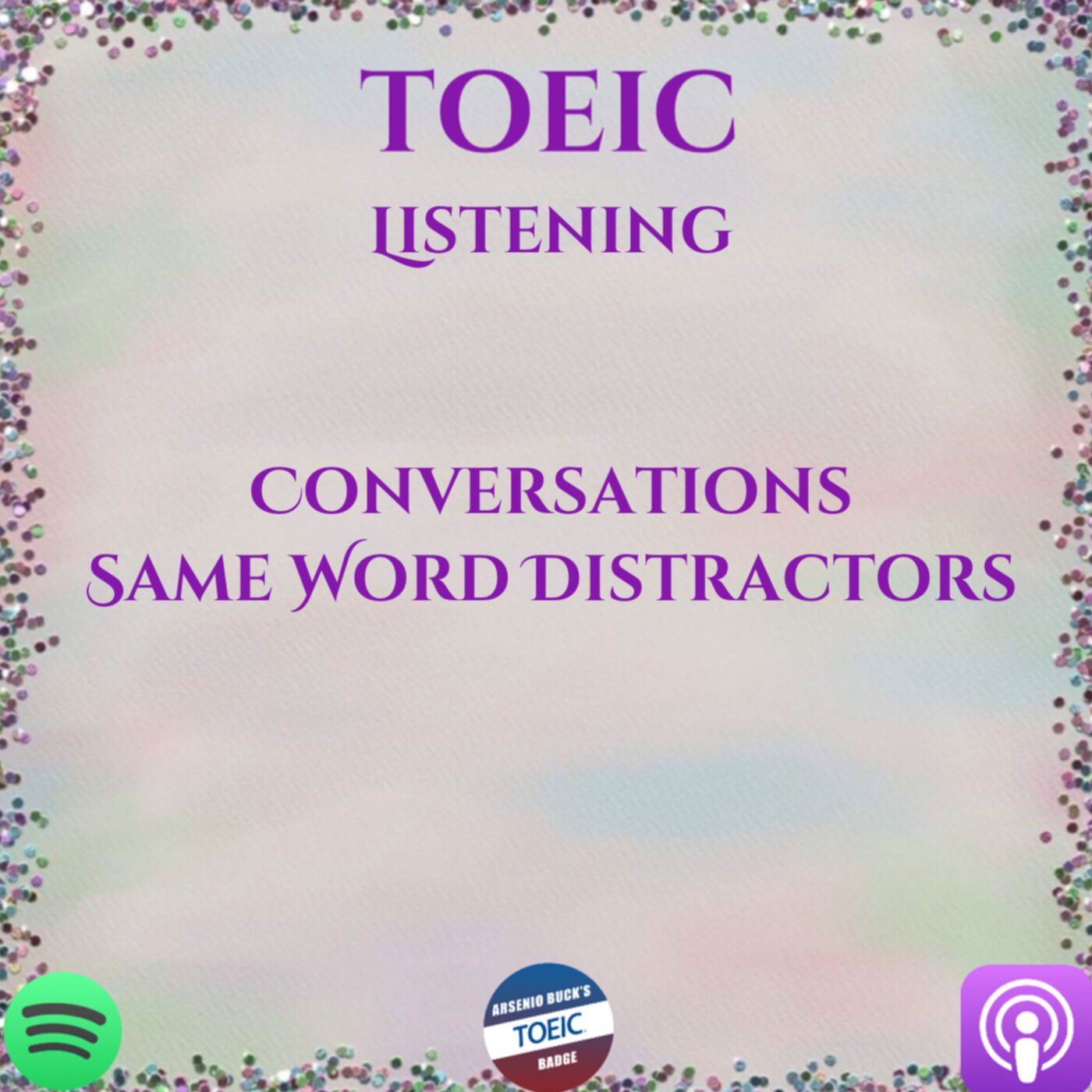 TOEIC | Listening | Conversations | Same Word Distractors