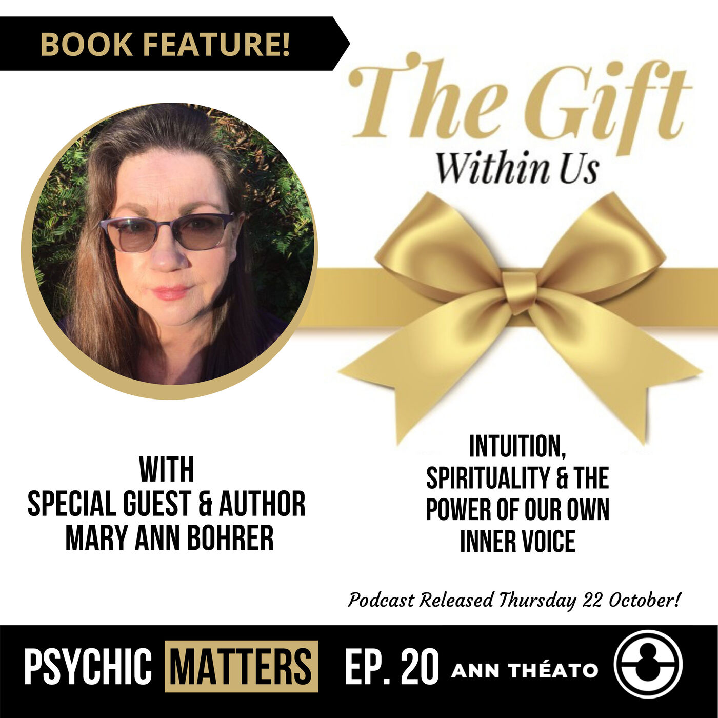 PM 020: The Gift Within Us with Mary Ann Bohrer