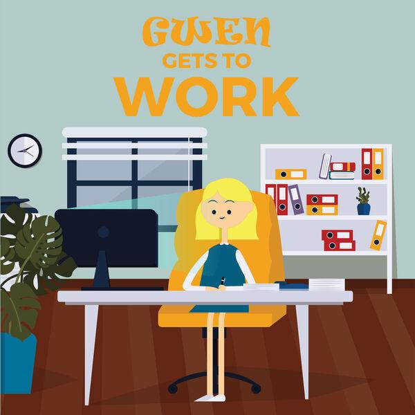 Gwen Gets to Work Podcast Artwork Image