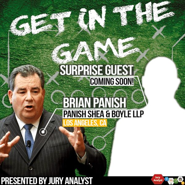 Get in the Game Podcast from Jury Analyst Podcast Artwork Image