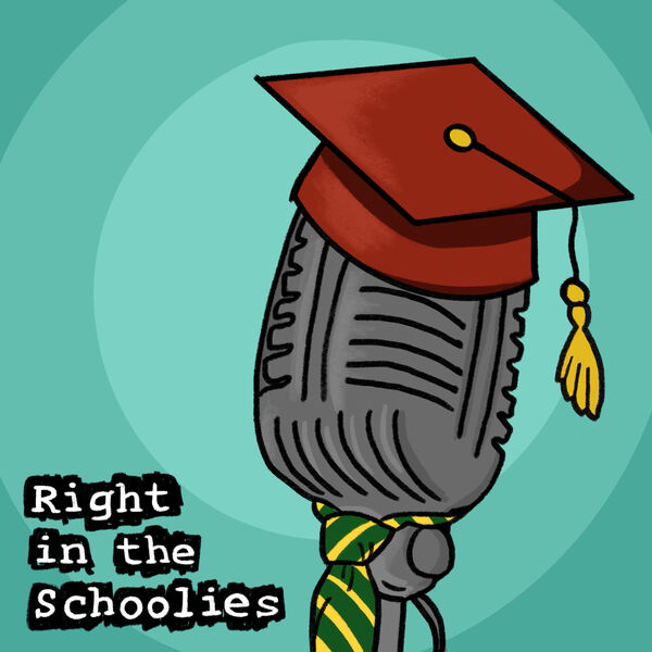 Right in the Schoolies Podcast Artwork Image