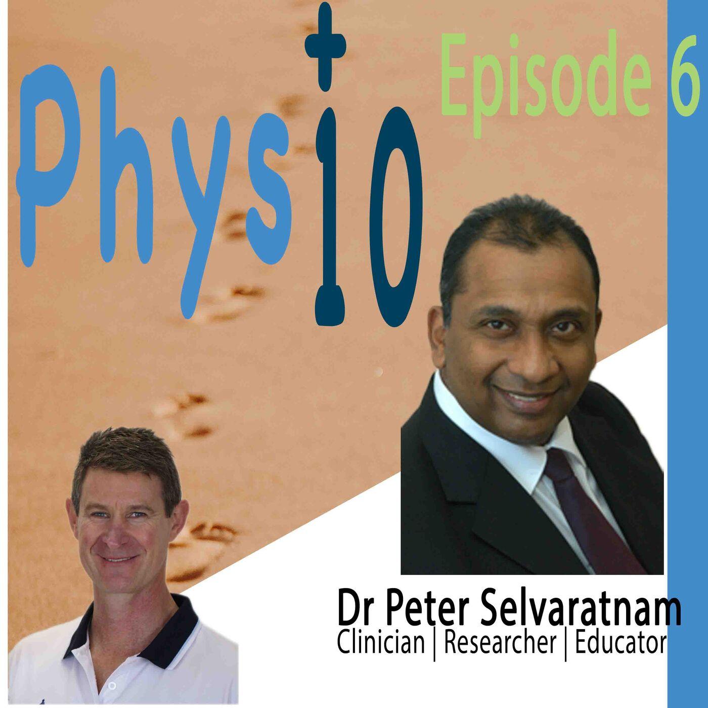 Dr Peter Selvaratnam: Clinician | Author | Educator