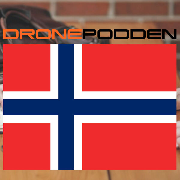 DRONEPODDEN Norway Podcast Artwork Image