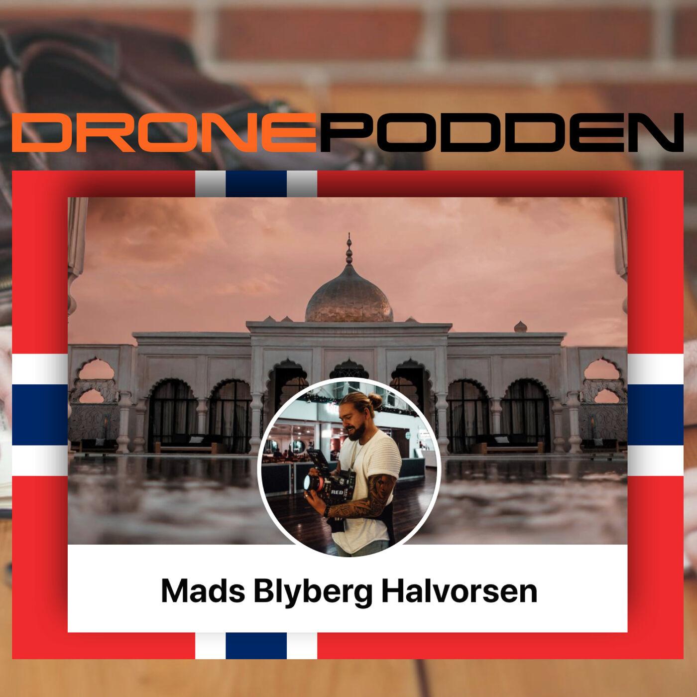 Episode nr. 10 - Droneklubben.no og @DroneStig presenterer kommersiell DronePilot Mads Blyberg Halvorsen som VINNER av FOTOKUNKURRANSEN 2020