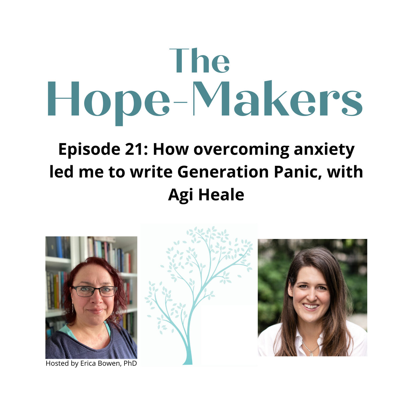Episode 21: How overcoming anxiety led me to write Generation Panic, with Agi Heale