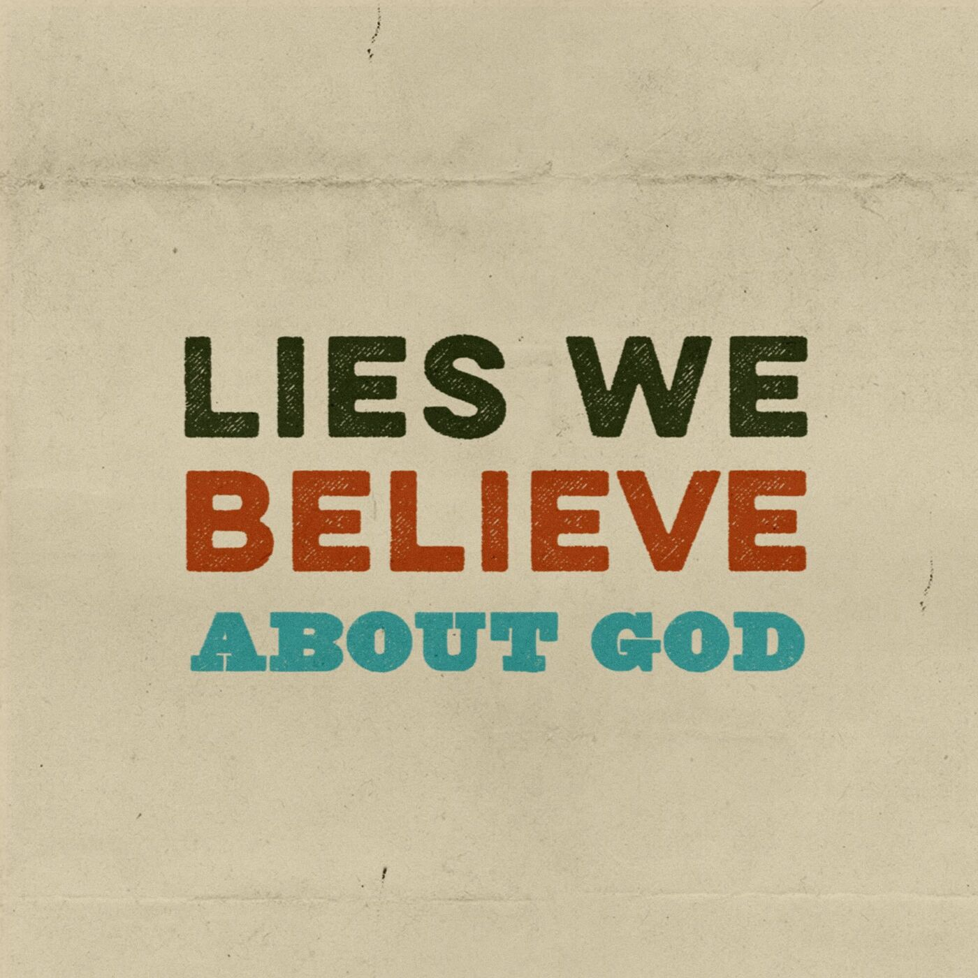 Lies We Believe About God: White Jesus