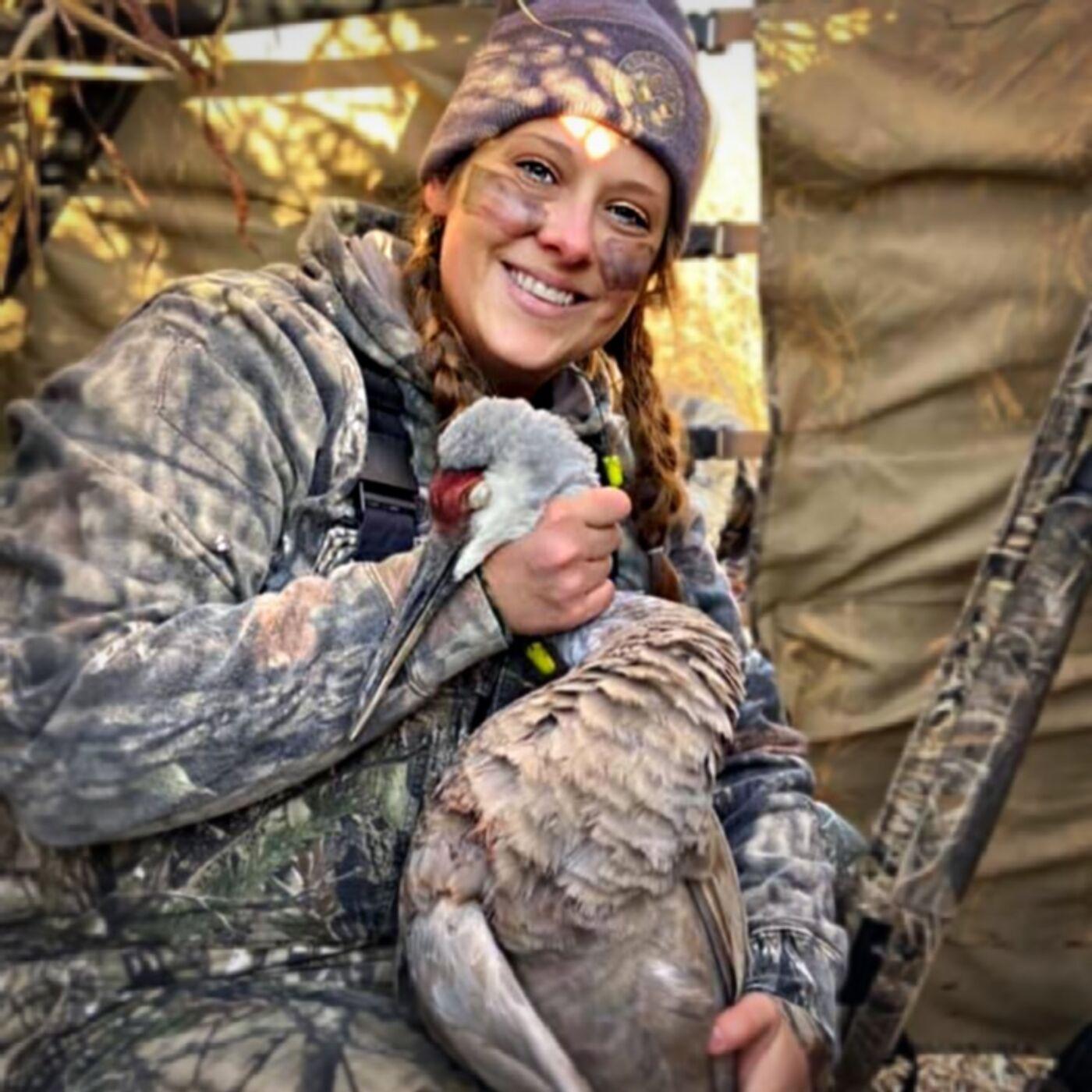 Jessica White -Sandhill Crane Hunt w/ 13 Ladies!