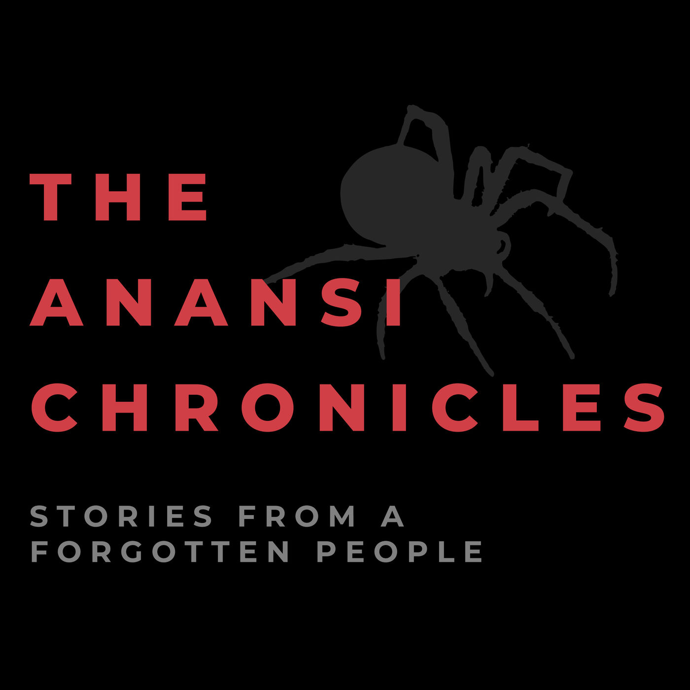 """    The Anansi Chronicles "" Podcast"