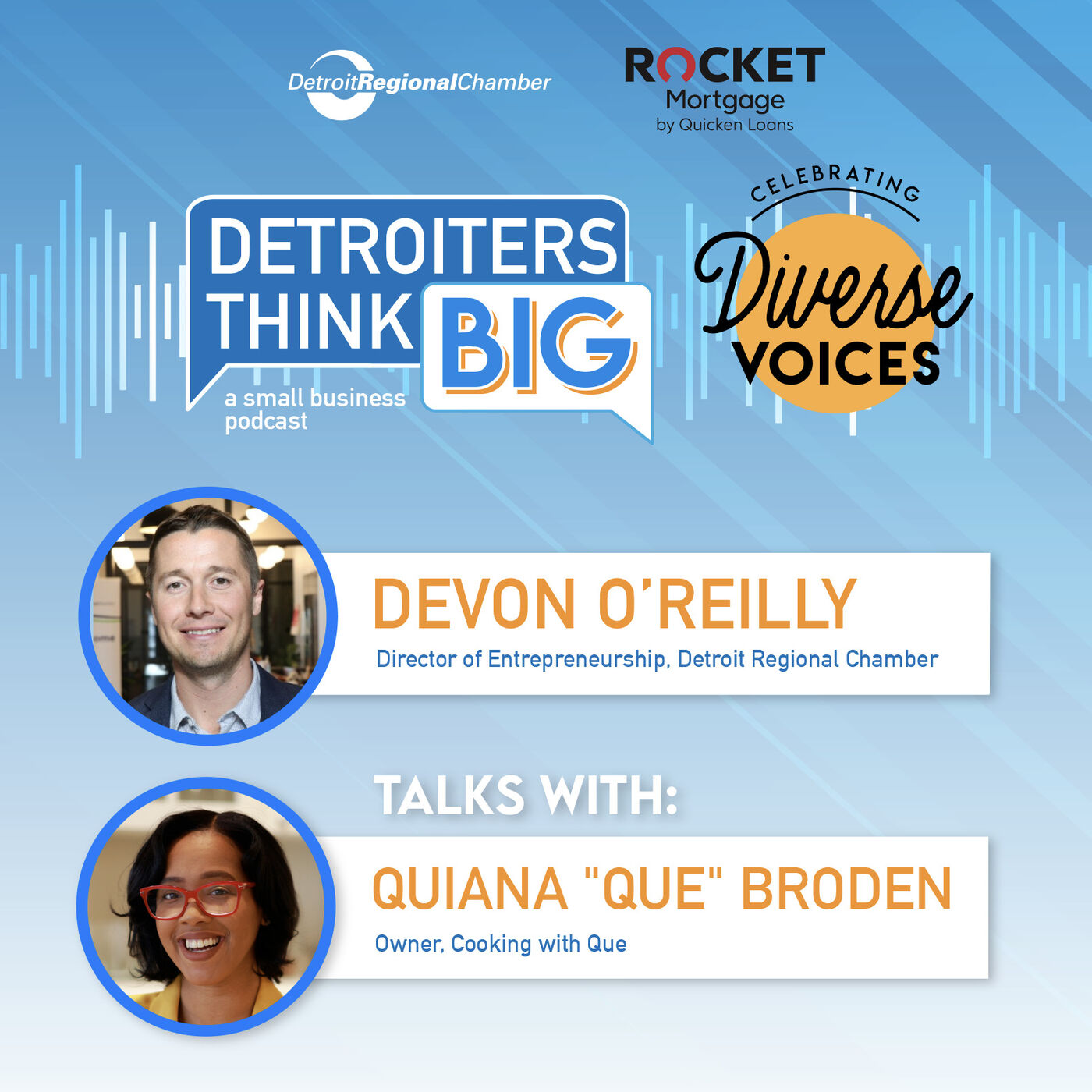 """Detroiters Think Big: A Small Business Podcast 