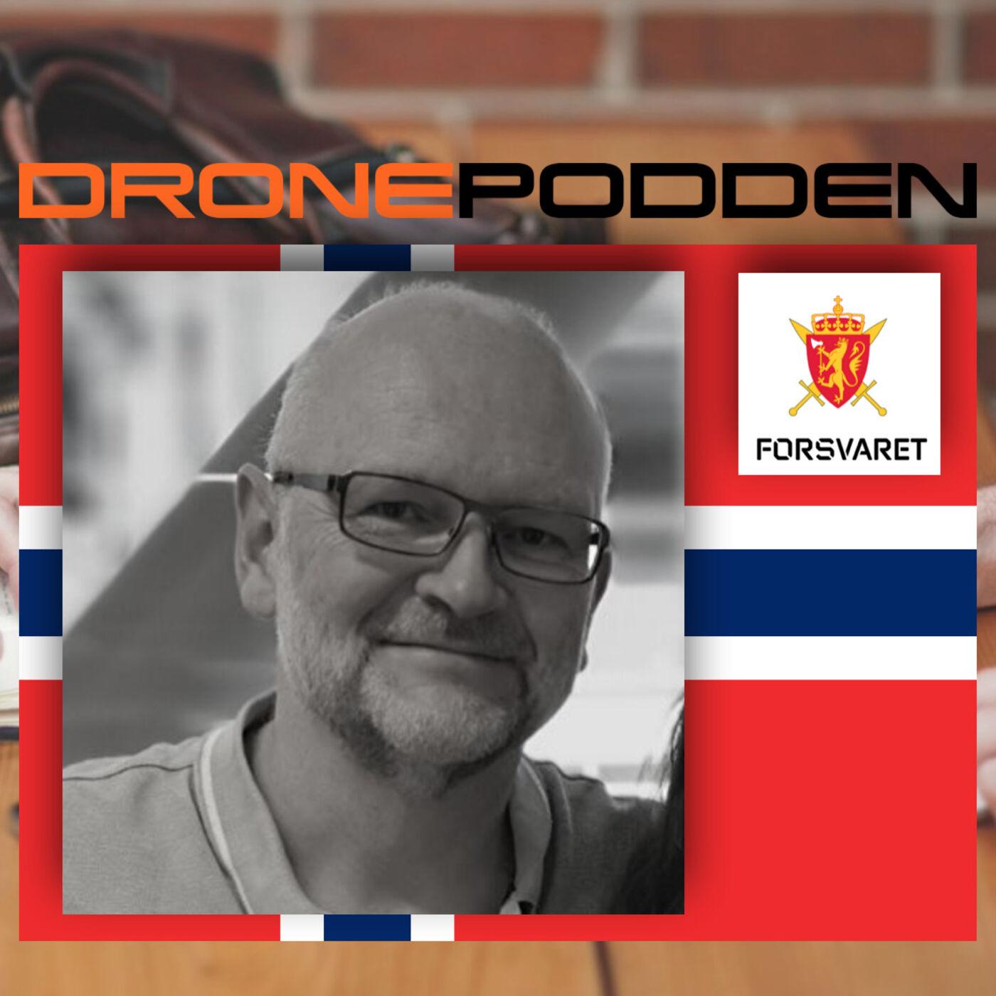 Episode nr. 2 - Svein Erik Brede mener Droneklubbens medlemmer kan bidra i å forsvare Norge med sine droner.