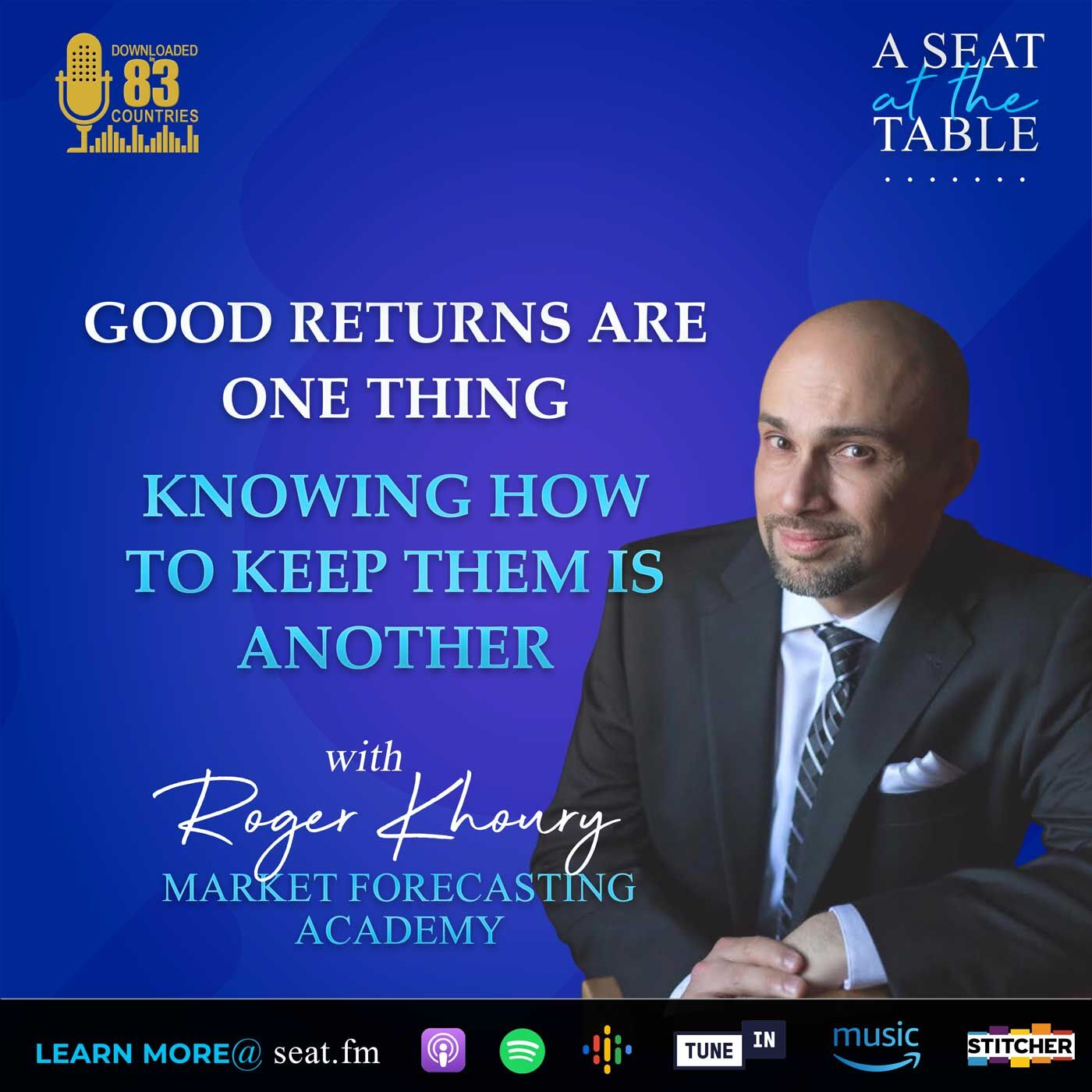 Getting Good Returns is One Thing. Knowing How to Keep Them is Another.