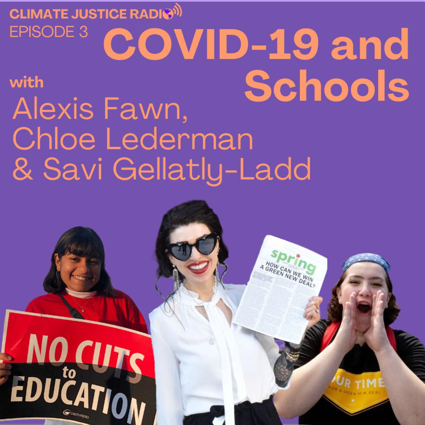 Episode 3 - COVID-19 and Schools