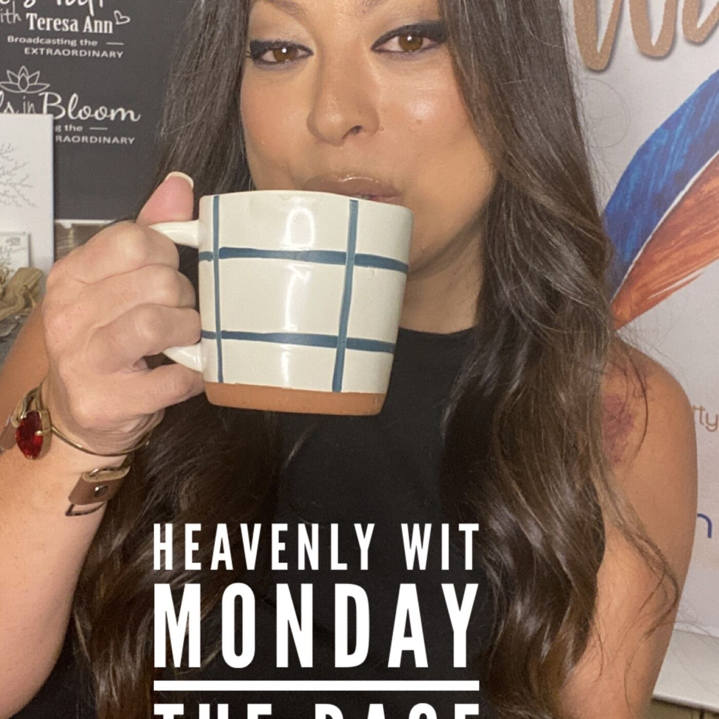 HEAVENLY WIT MONDAY   THE RACE