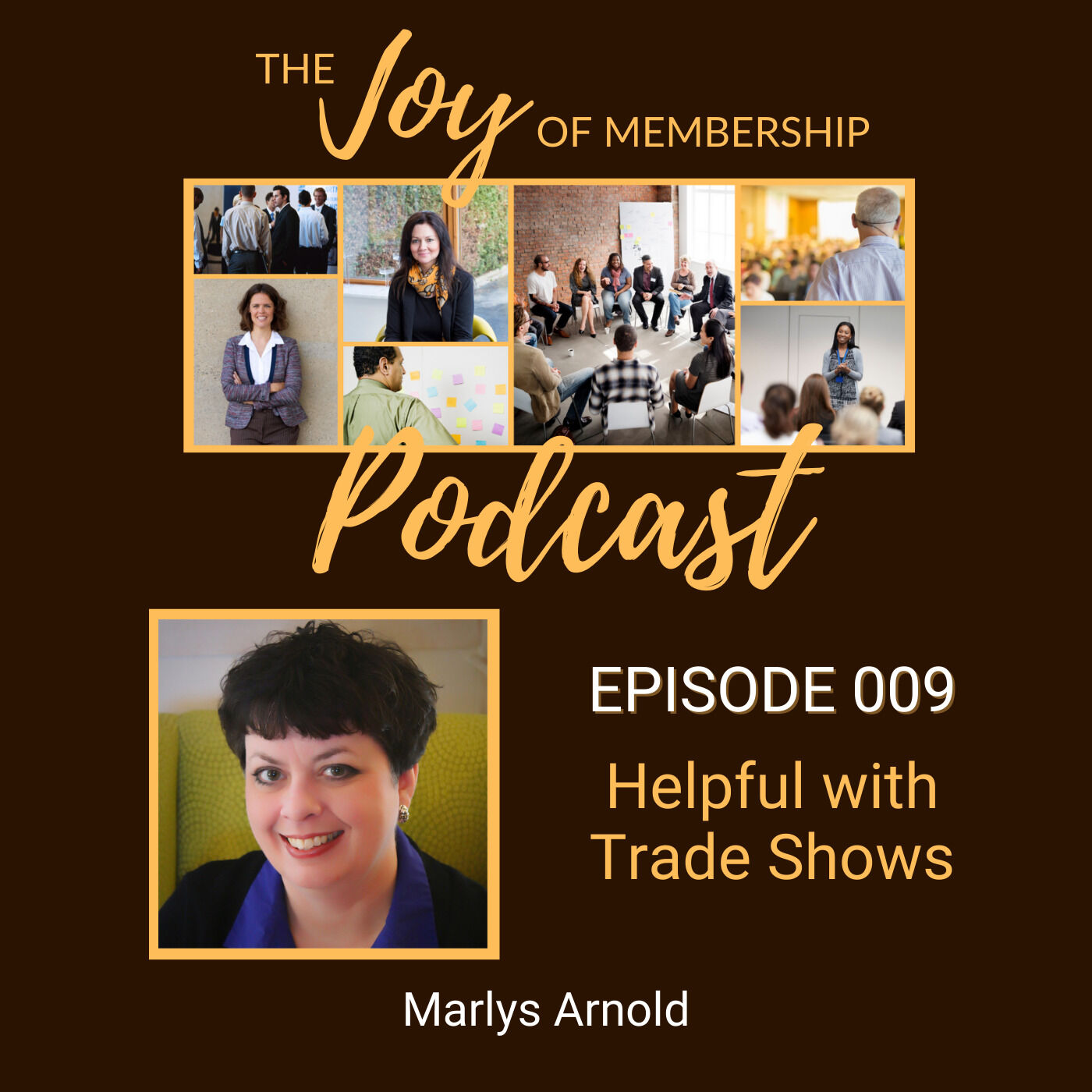 Helpful with Trade Shows: Marlys Arnold