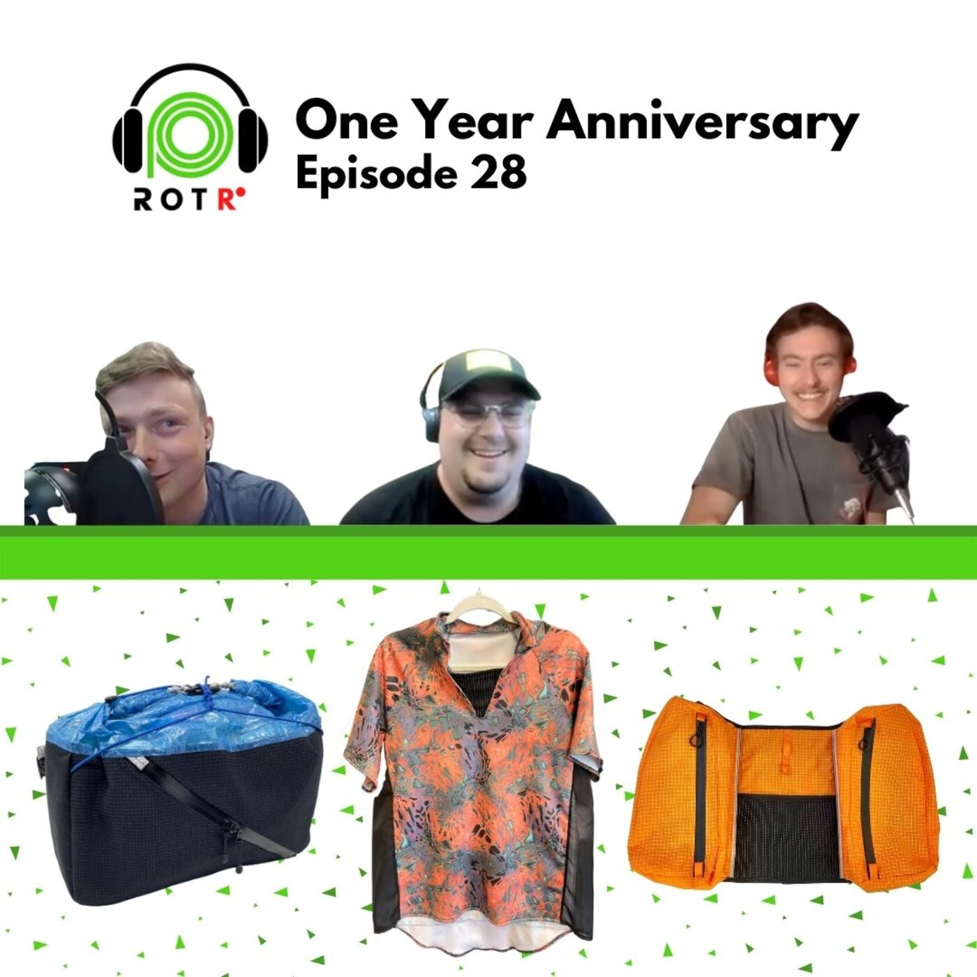 One Year Anniversary! Sew-off with Red Paw Packs