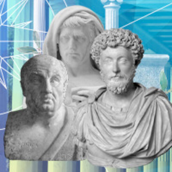Modern Stoicism Podcast Podcast Artwork Image