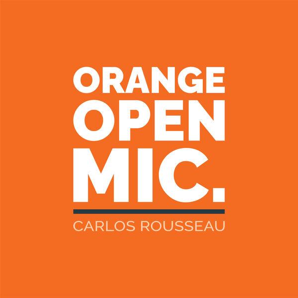 Orange Open Mic Podcast Artwork Image