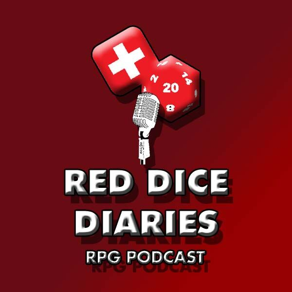 Red Dice Diaries RPG Podcast Podcast Artwork Image