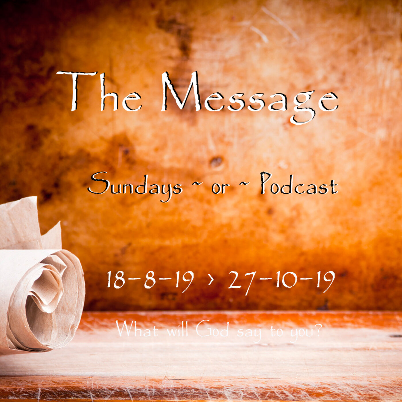 20190825 The Message of God's Reign