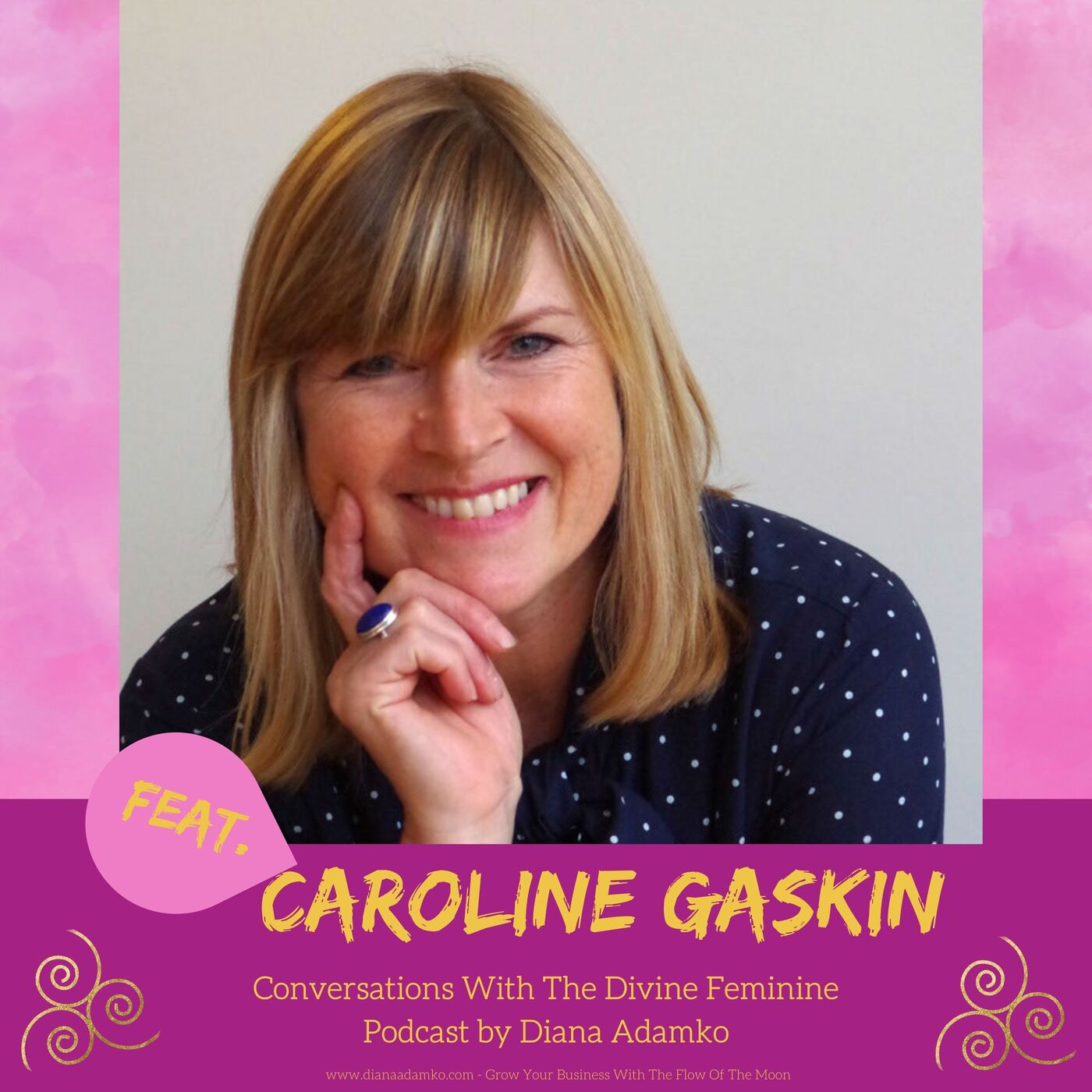 Conversation #16 - Managing Menopause Naturally With Caroline Gaskin - Part 1