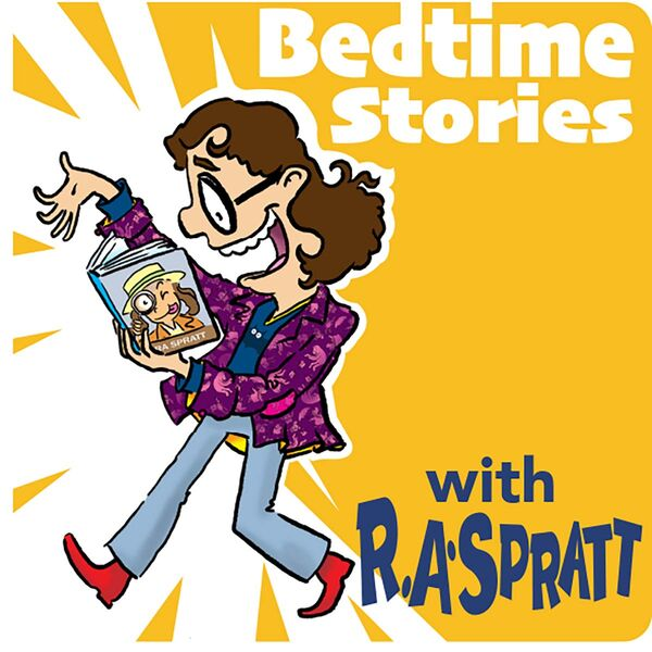 Bedtime Stories with R.A. Spratt Podcast Artwork Image