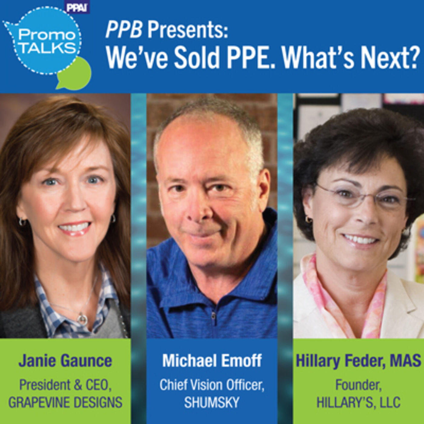 """PPB Presents: """"We've Sold PPE. What's Next?"""""""