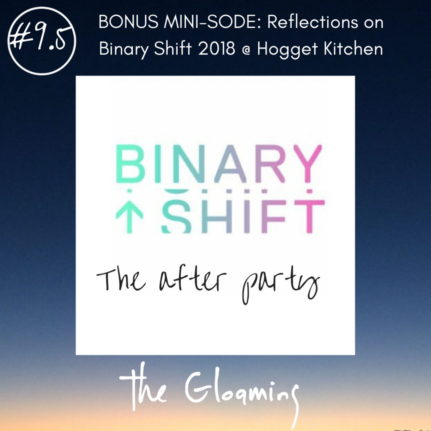 TG9.5 (BONUS): Reflections on Binary Shift 2018 @ the Hogget Kitchen afterparty