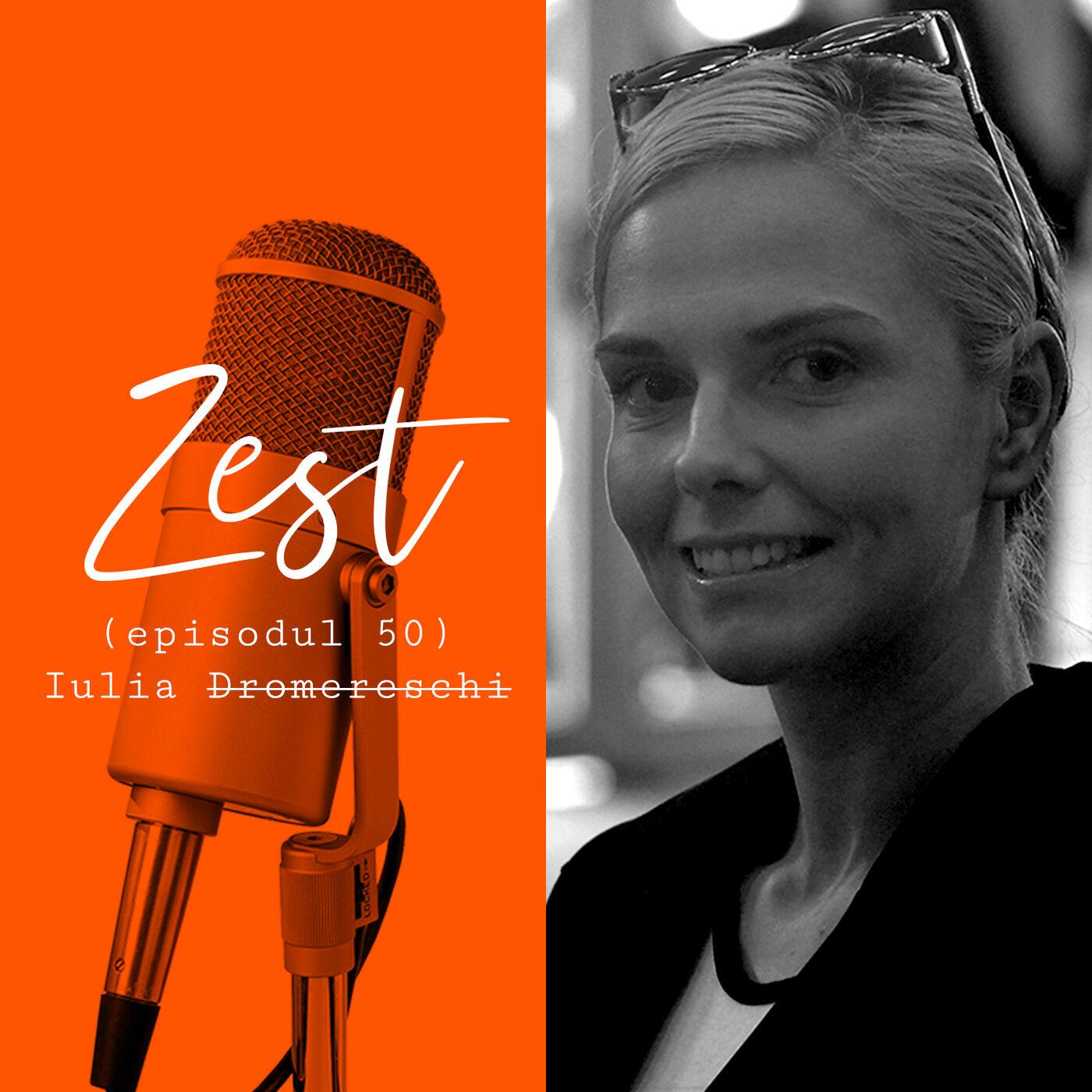Iulia Dromereschi: Vorbiți cu entuziasm despre ce scrieți!