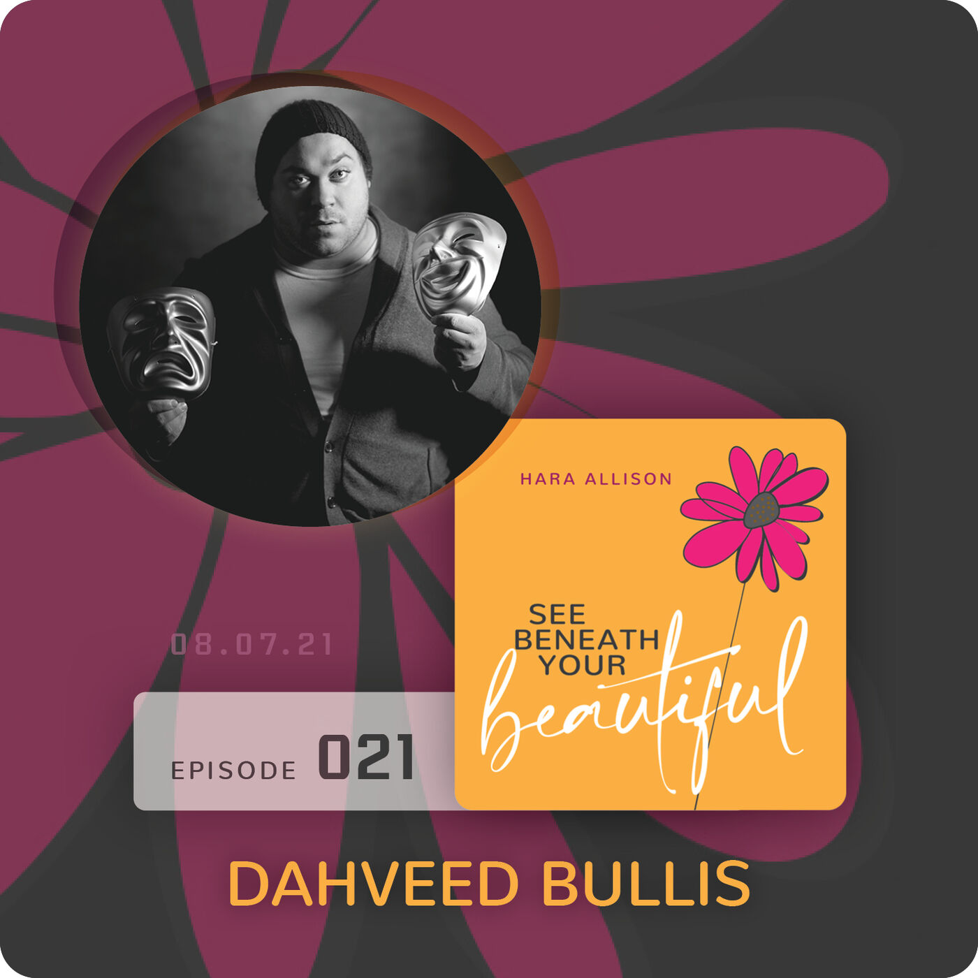 021. Dahveed Bullis discusses being an artist and an enigma as well as his rosy outlook despite an absent father, disabled mother, loss of his brother, growing up in poverty, a chest filled with tumors and so much more