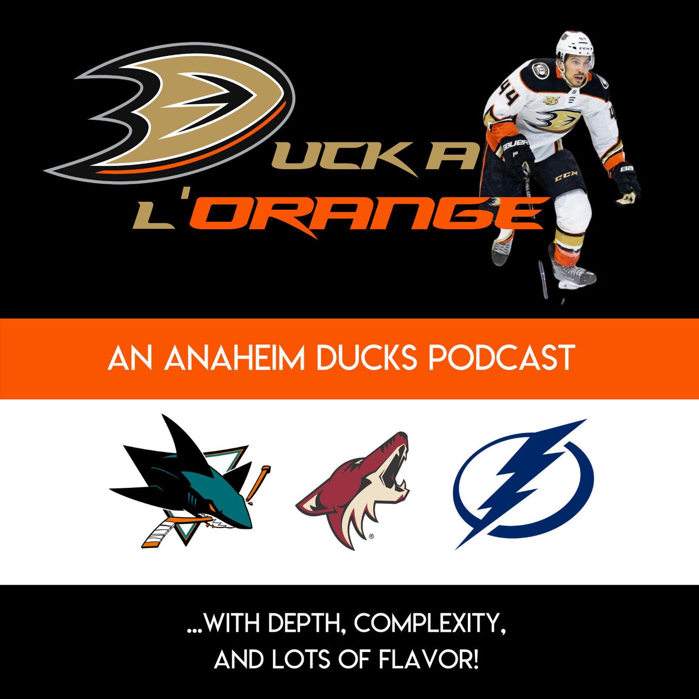 Episode#2: Dallas Eakins: Where's the effort & leadership? Recapping Games vs. SJ, AZ & TBL w/ Ducks Sitting @ 20-26-5 (7th Pacific)