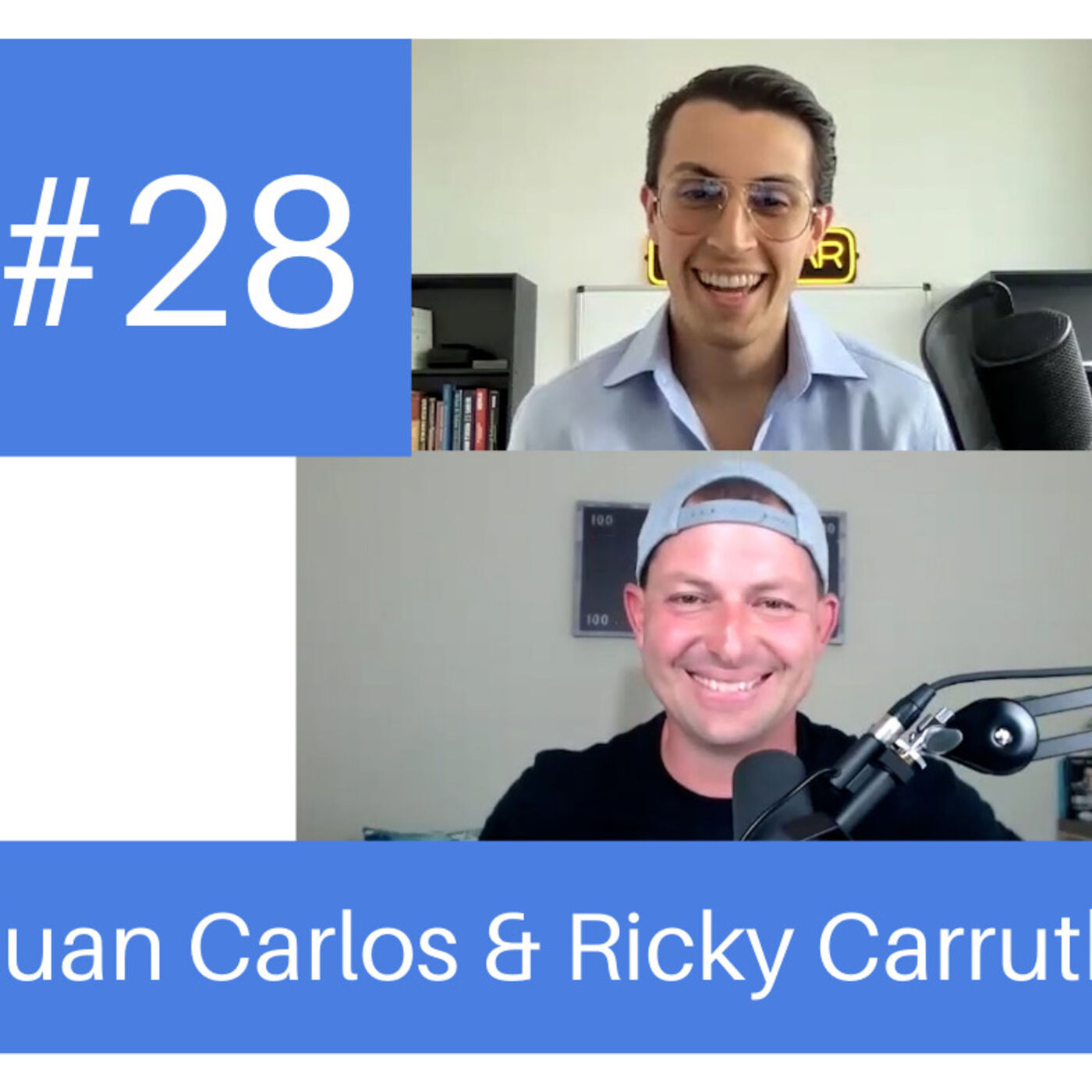 Podcast #28- The #1 Focus of Six-Figure Real Estate Pros (it's not what you think) w/ Rick Carruth and Juan Carlos Barreneche