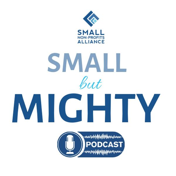 Small But Mighty Podcast for Non-Profits Podcast Artwork Image