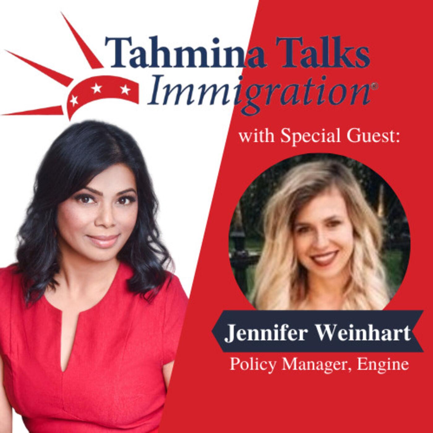 #125 Startup Visa Series - Jennifer Weinhart, Policy Manager, Engine