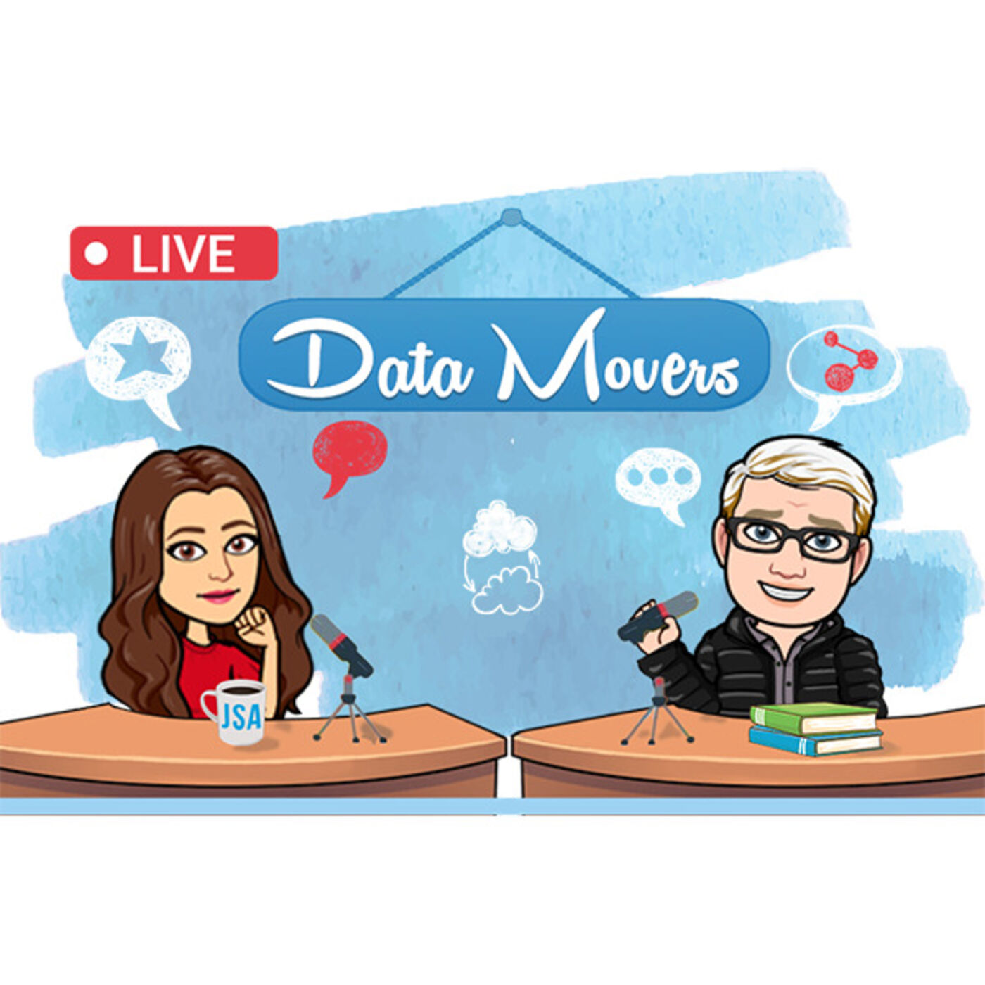 Data Movers Podcast with David Johnson of Comstar Technologies: Unified Communications, Client Care and Philly Cheesesteaks