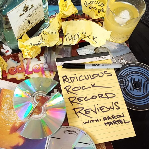 Ridiculous Rock Record Reviews Podcast Artwork Image