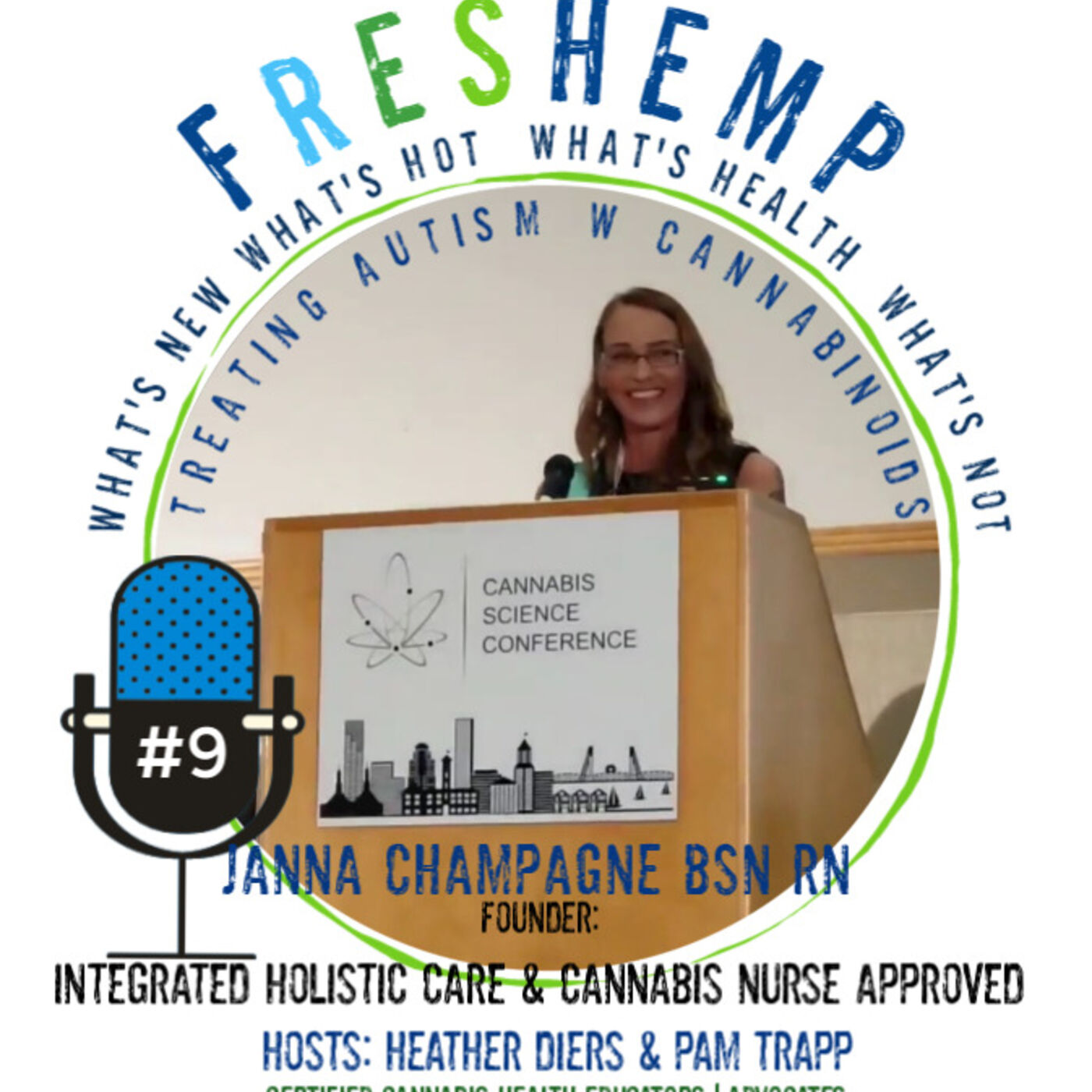 Janna Champagne BSN RN  Treating Autism with Cannabinoids