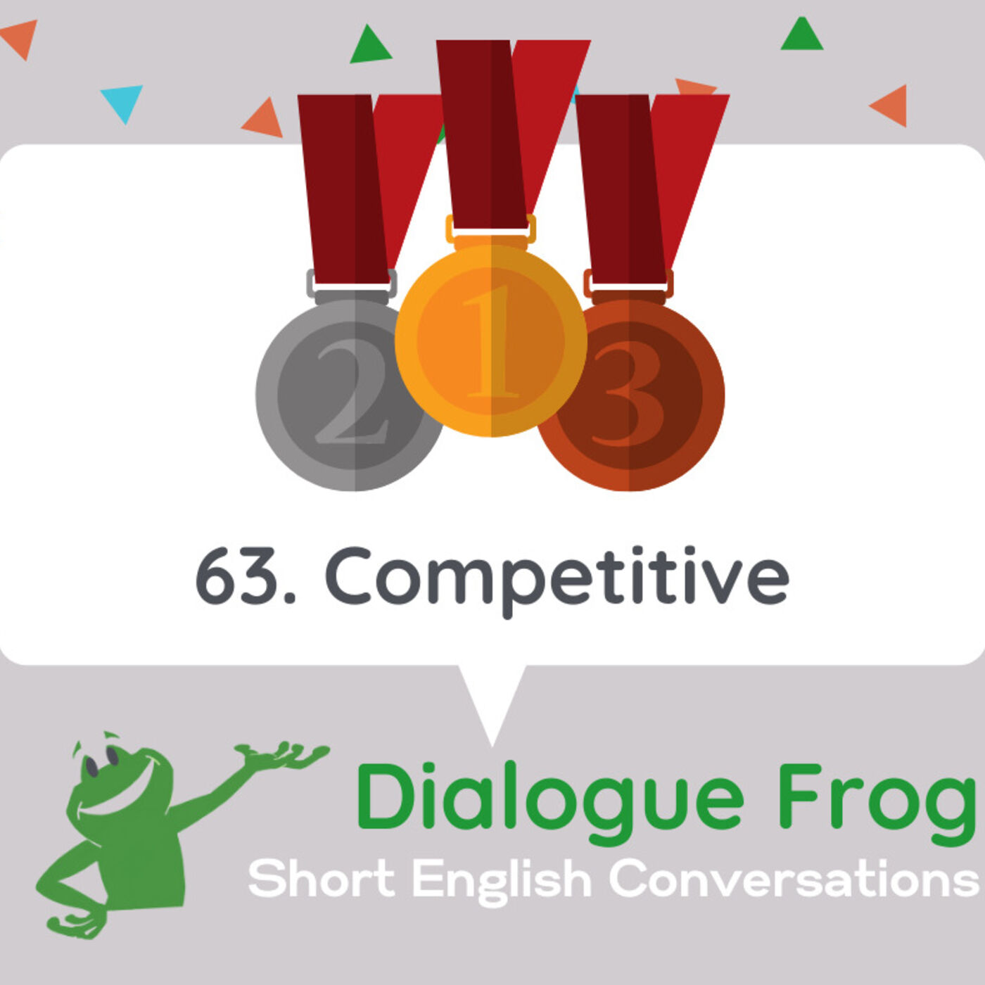 063 Competitive – Conversations for English Listening Practice