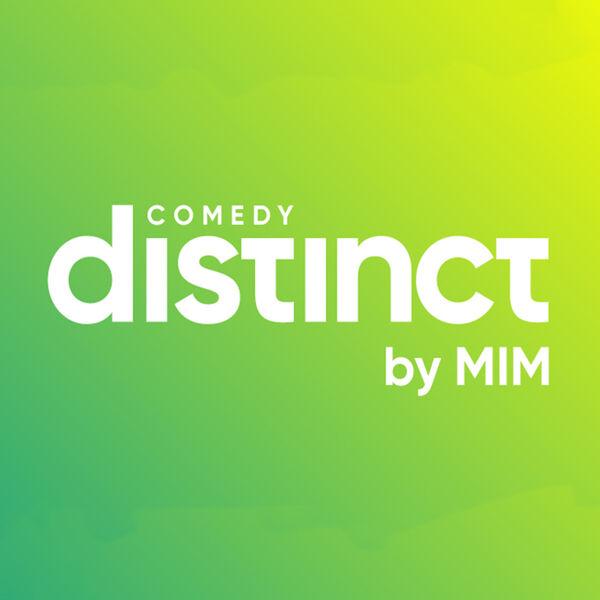 Distinct Comedy Podcast Artwork Image