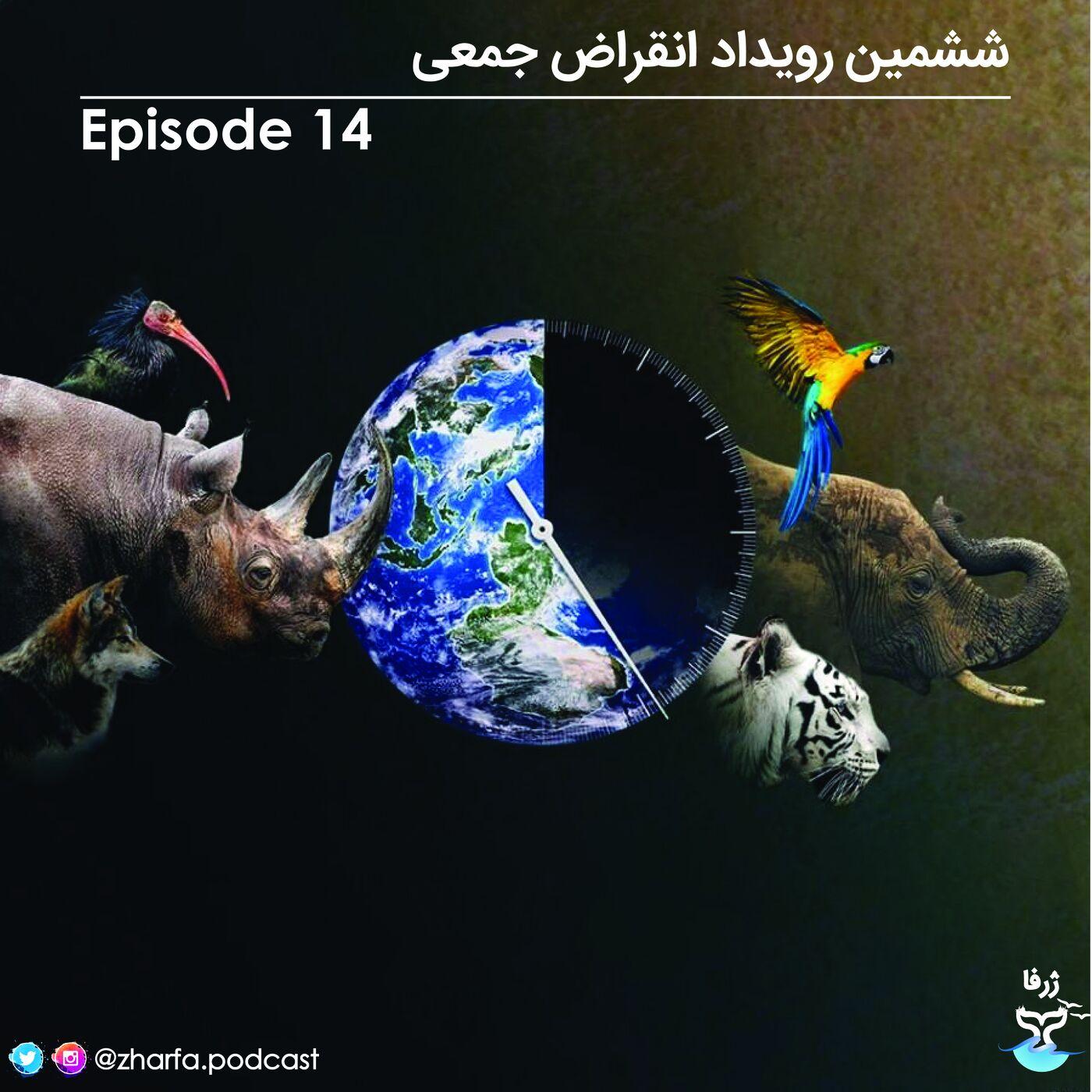 قسمت چهاردهم - ششمین رویداد انقراض جمعی