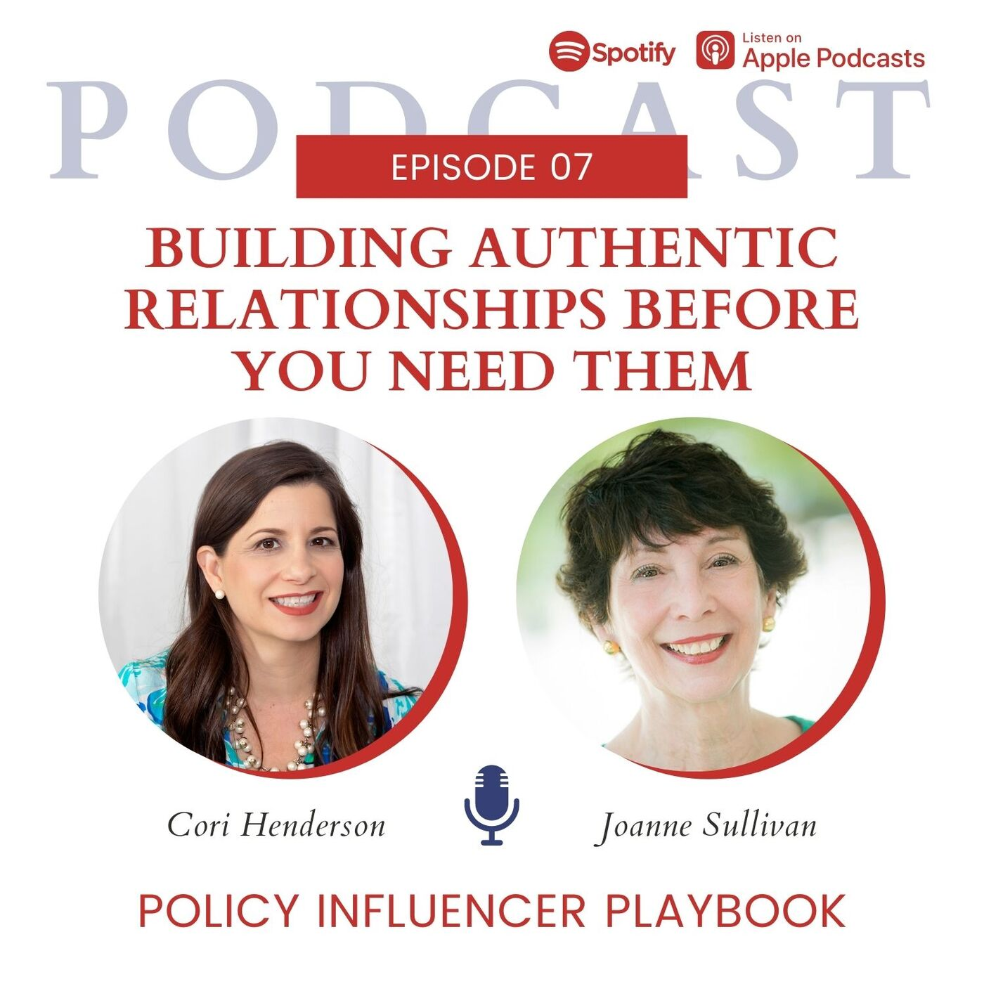 Building Authentic Relationships Before Your Need Them with Joanne Sullivan