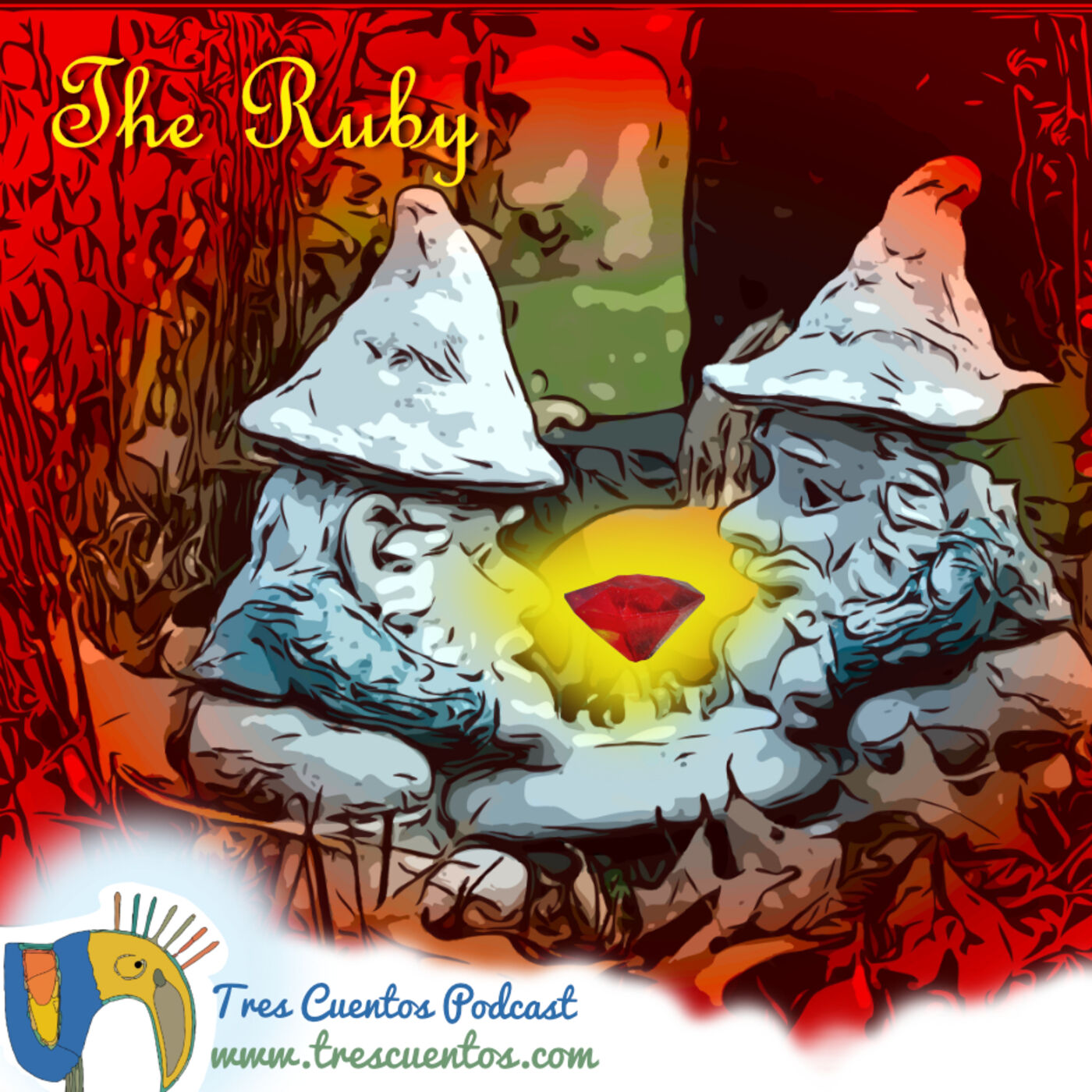 20- Latino Authors - The Ruby - Ruben Dario - Nicaragua/Central America