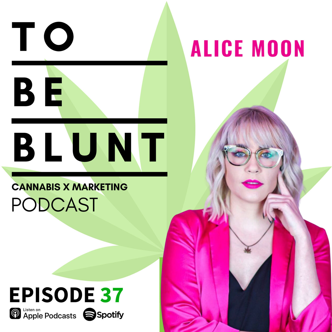 037 Securing Publicity and PR for your Cannabis Brand with Alice Moon