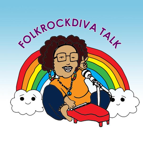 FolkRockDiva Talk Podcast Artwork Image
