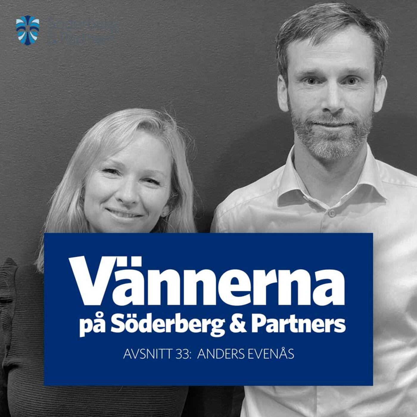 Avsnitt 33 - Anders Evenås