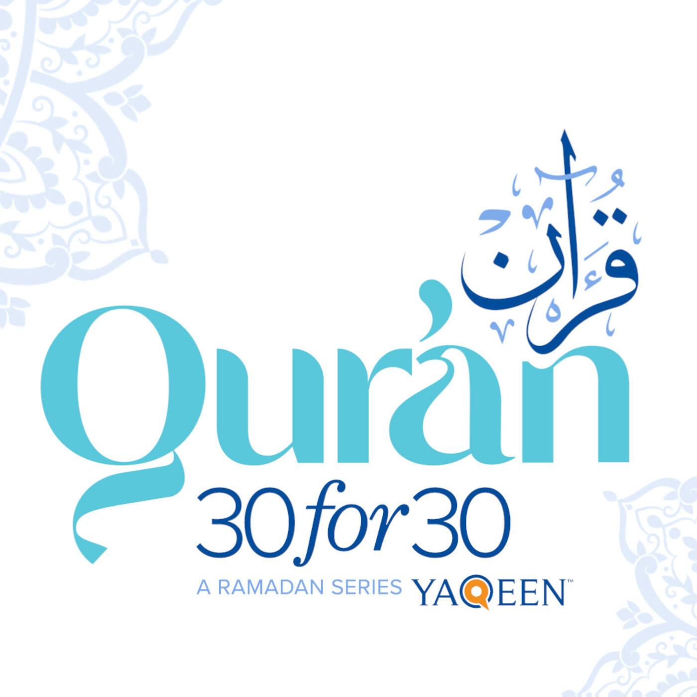 Juz' 20 with Dr. Ovamir Anjum - Qur'an...