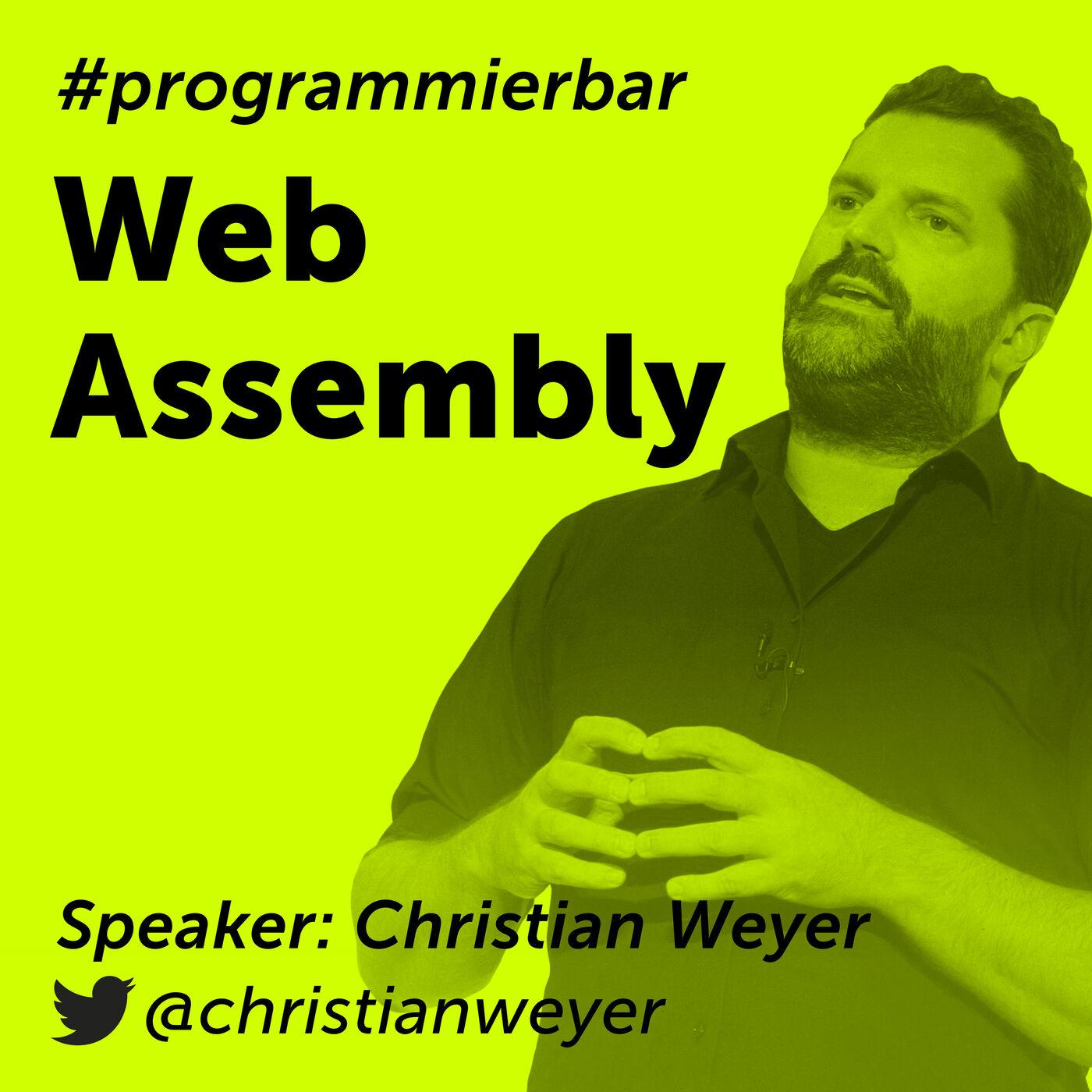 Folge 68 - WebAssembly mit Christian Weyer, CTO und Co-Founder von Thinktecture